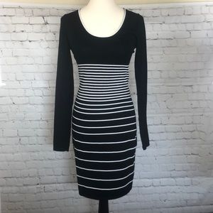Max Studio black and white dress